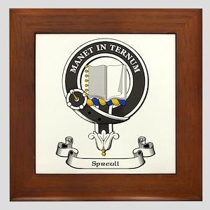 Badge-Spreull Framed Tile