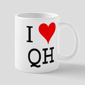I Love QH Mug