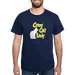 Crazy Cat Lady Dark T-Shirt