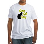 Crazy Cat Lady Fitted T-Shirt