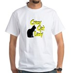 Crazy Cat Lady White T-Shirt