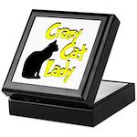 Crazy Cat Lady Keepsake Box
