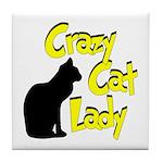Crazy Cat Lady Tile Coaster