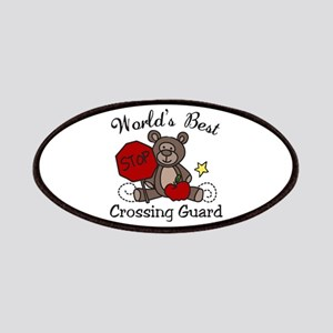 Worlds Best Crossing Guard Patches