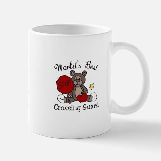 Worlds Best Crossing Guard Mugs