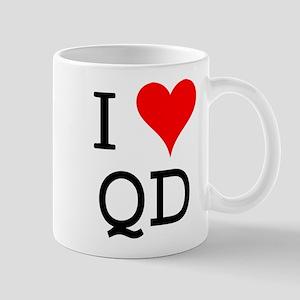I Love QD Mug
