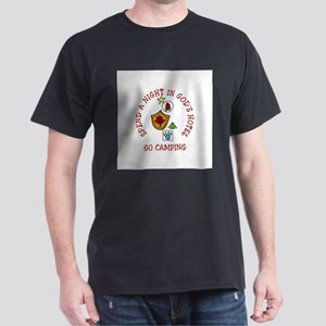 Go Camping Speed A Night In Gods Hotel T-Shirt