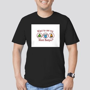 Want to see my Merit Badges? T-Shirt