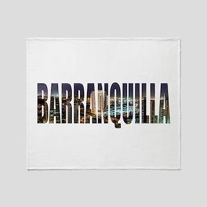 Barranquilla Throw Blanket