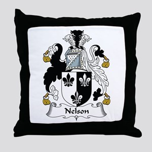 Nelson II Throw Pillow