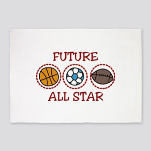 Future All Star 5'x7'Area Rug
