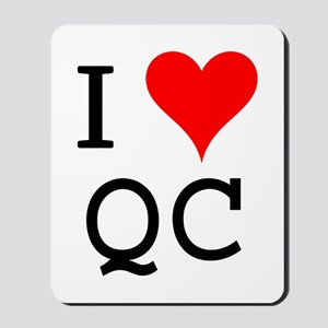 I Love QC Mousepad