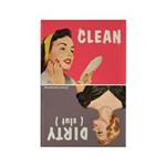 Clean Dirty Dishwasher Magnet By Bluntcard Magnets