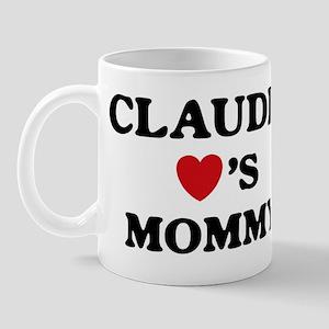 Claudia loves mommy Mug