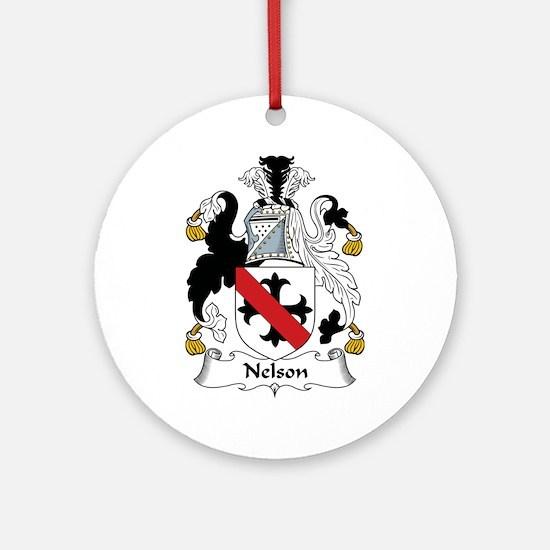 Nelson I Ornament (Round)
