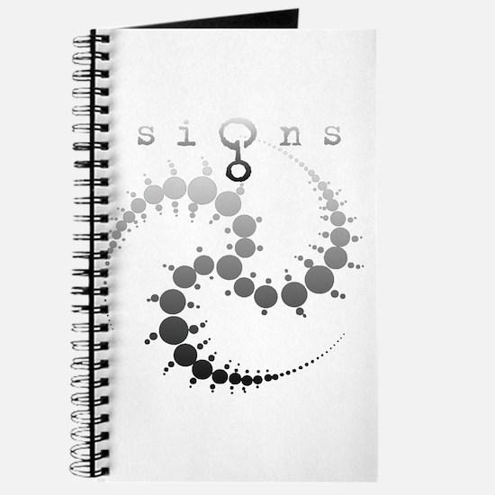 Spiral Crop Circle Grey Journal