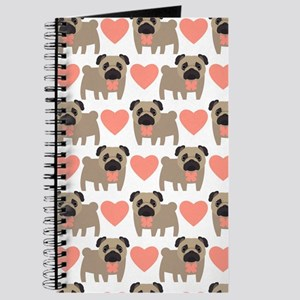 Pugs And Hearts Journal