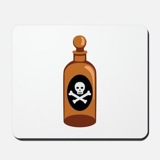 Poison Bottle Skull Crossbones Mousepad