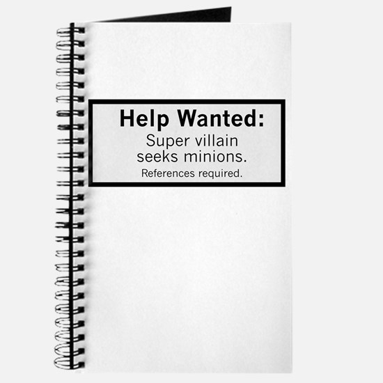 Minions Wanted Journal