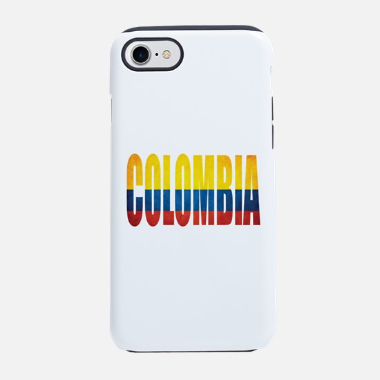 Colombia iPhone 7 Tough Case