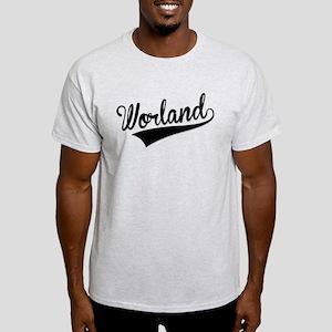 Worland, Retro, T-Shirt