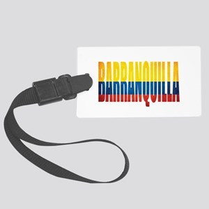 Barranquilla Large Luggage Tag