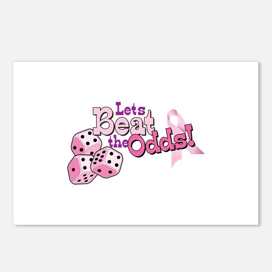 Lets Beat the Odds! Postcards (Package of 8)