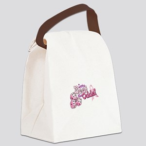 Lets Beat the Odds! Canvas Lunch Bag