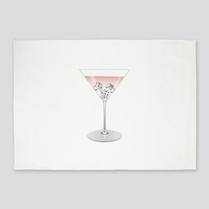 Bunco Martini 5'x7'Area Rug