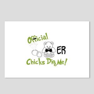 Chicks Dig Me Postcards (Package of 8)