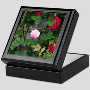 Rare Nature Rose Keepsake Box