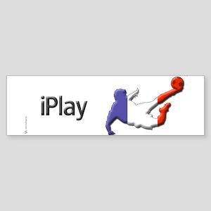 iPlay France Bumper Sticker