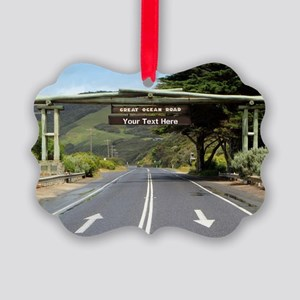 Australia Great Ocean Road Custom Picture Ornament