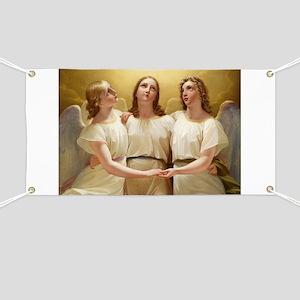 Kadik - three Angels - 1822 - Painting Banner