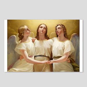 Kadik - three Angels - 1822 - Painting Postcards (