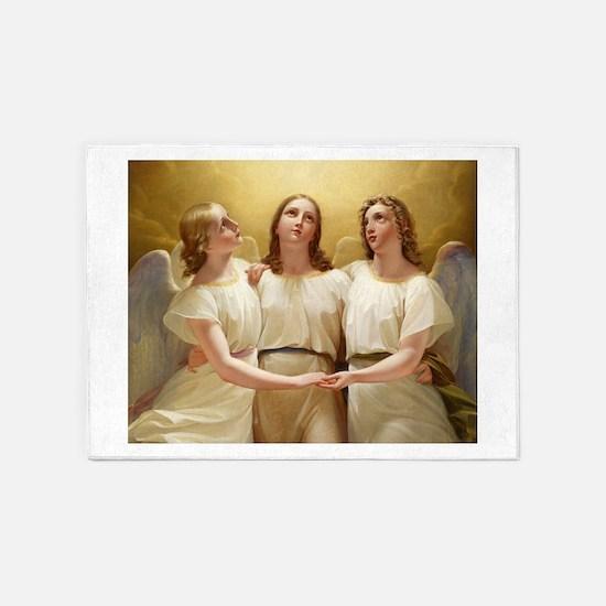 Kadik - three Angels - 1822 - Painting 5'x7'Area R