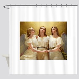 Kadik - three Angels - 1822 - Painting Shower Curt