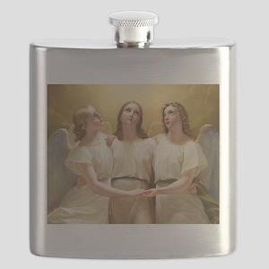 Kadik - three Angels - 1822 - Painting Flask
