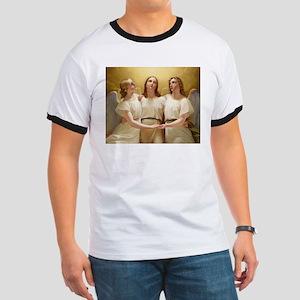 Kadik - three Angels - 1822 - Painting T-Shirt