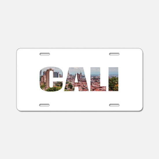 Cali Aluminum License Plate