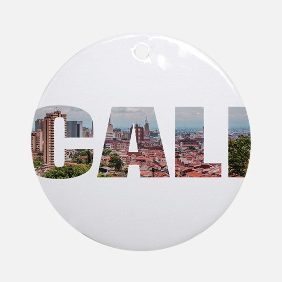 Cali Round Ornament