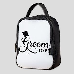 Groom to be Neoprene Lunch Bag