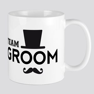 Team groom, hat and mustache Mugs