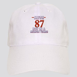 87 year old designs Cap