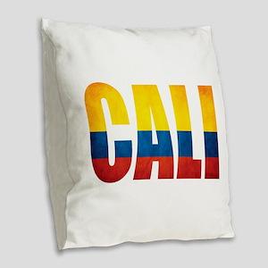 Cali Burlap Throw Pillow