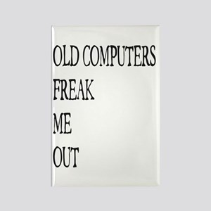 Old Computers Freak Me Out 001 Magnets