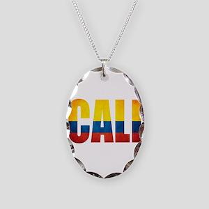 Cali Necklace Oval Charm