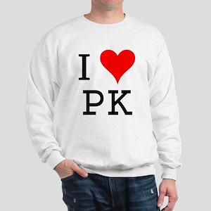 I Love PK Sweatshirt