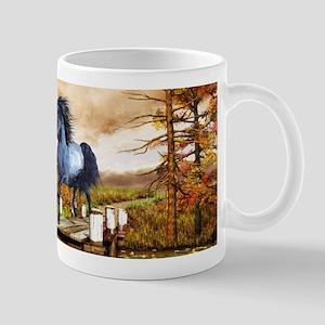 Horse on the Lake Mugs