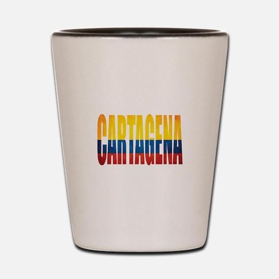 Cartagena Shot Glass